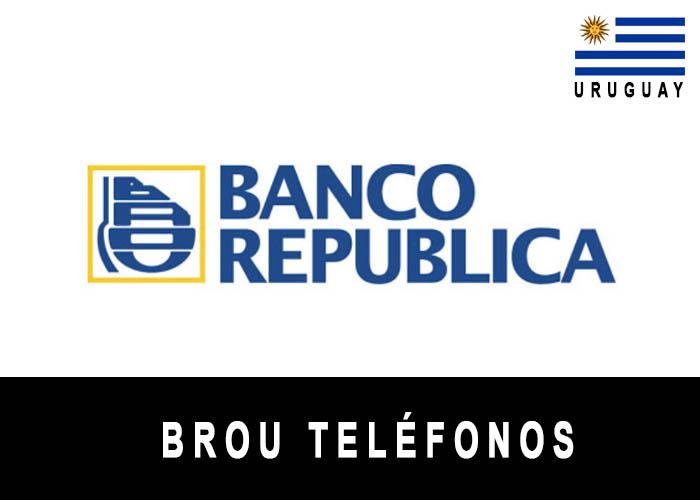 Teléfono de BROU
