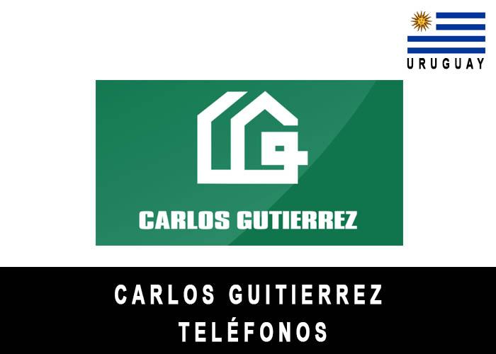 Teléfono de Carlos Gutiérrez