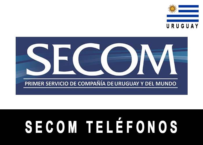 Teléfono de SECOM